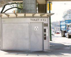 TransLink ищет решение для установки туалетов на станциях SkyTrain