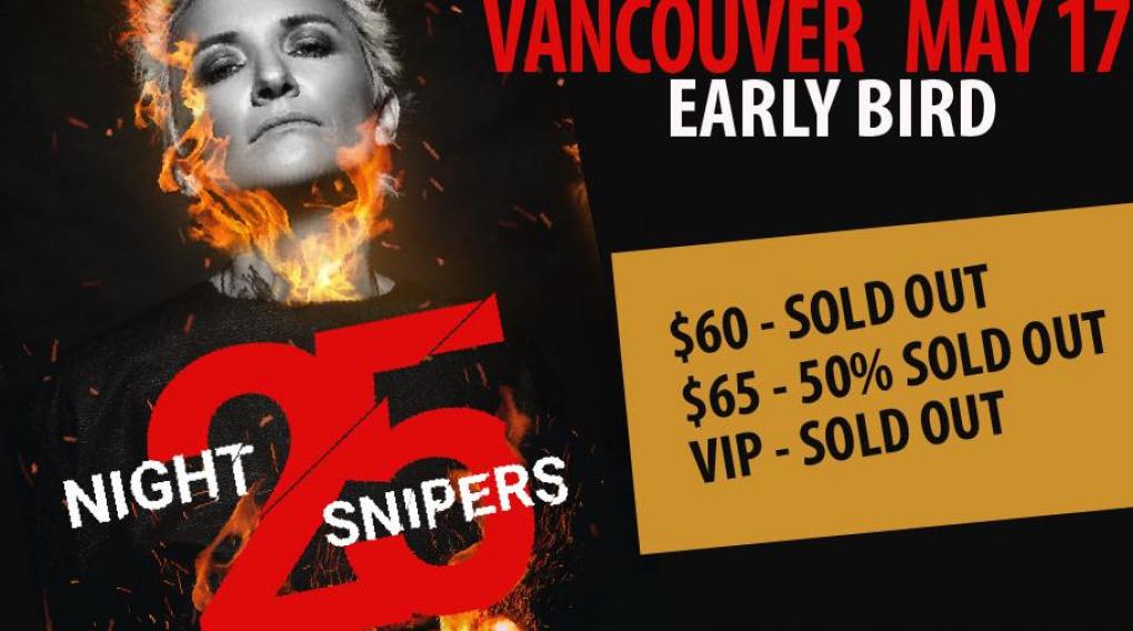 """Диана Арбенина и группа """"Ночные Снайперы"""" в Ванкувере!"""