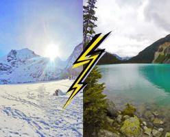 Зимний поход на Joffre Lakes