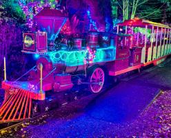 Миниатюрный поезд в Stanley Park