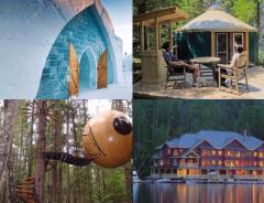 Отели в Канаде: 10 необычных мест для остановки