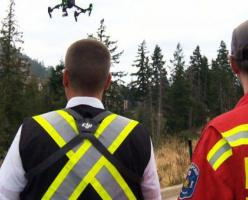 Пожарные Британской Колумбии обзаведутся дронами