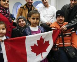 В 2016 году Канада приняла рекордное количество беженцев за 40 лет