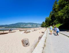 Пляжи Ванкувера: Третий Пляж (Third Beach)