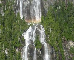 Водопад Делла (Della Falls)