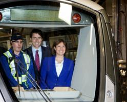 Трюдо пообещал 50 новых вагонов для скайтрейна, а также новый seabus жителям Ванкувера