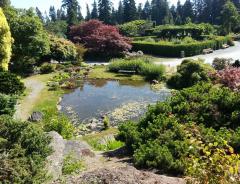 Ботанический сад в университете Британской Колумбии (UBC Botanical Garden)