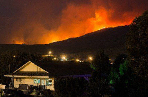 В Канаде зарегистрированы самые разрушительные пожары в истории