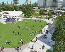 В Ванкувере откроют огромный парк на крыше ТЦ (ФОТО)