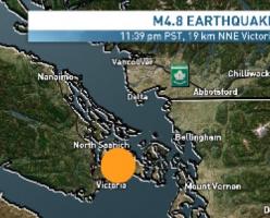 Землетрясение в Британской Колумбии взволновало многих жителей южного побережья