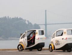 Новый сервис в Ванкувере: прокат веломобилей