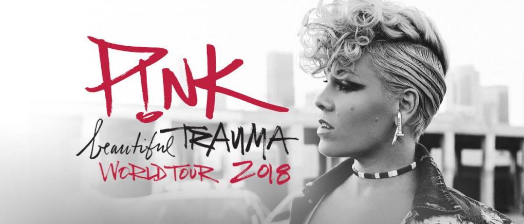 Концерт P!NK в рамках Beautiful Trauma World Tour