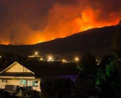 Лесные пожары в Канаде: объявлено чрезвычайное положение