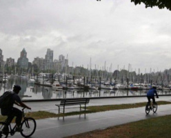 Лета не будет? Пасмурная погода в Ванкувере продолжится до конца июля