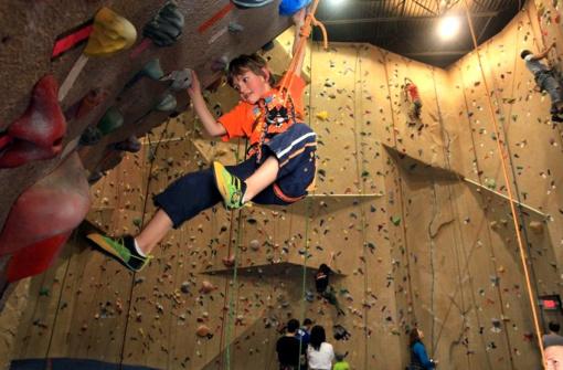 Центр Скалолазания (The Edge Climbing Centre)
