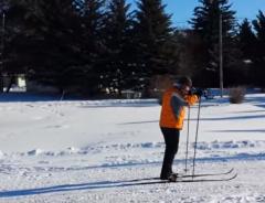 Первый раз на лыжах (Holiday Mountain Resort)
