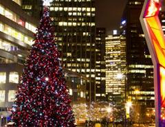 Лучшие рождественские места в Ванкувере для посещения бесплатно либо очень дешево