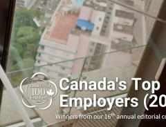 Лучшие работодатели Канады: ТОП-100 в 2016 году
