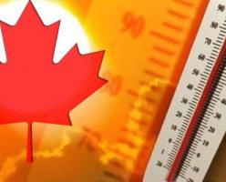 Британская Колумбия пережила самые жаркие выходные в своей истории