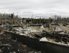 Фотографии Форт МакМюррей после пожара
