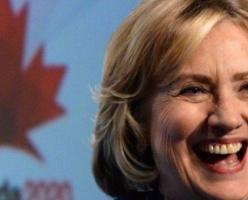 Опрос: канадцы хотят, чтобы Хиллари Клинтон стала президентом