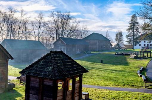 Национальный исторический музей Форт-Лэнгли (Fort Langley National Historic Site)
