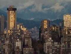 Великопное видео про красоты Ванкувера