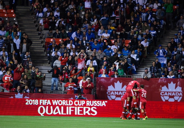 Чемпионат мира по футболу 2018: Канада - Мексика