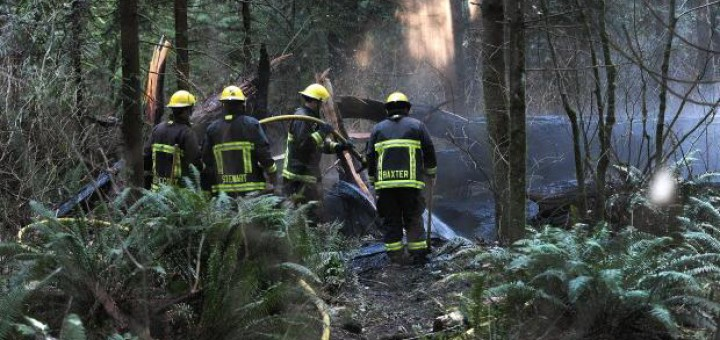 В Stanley Park случился пожар