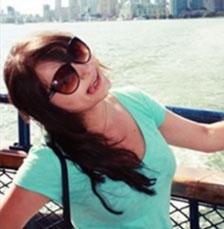 Блогерша Вероника