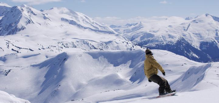 Самые крупные горнолыжки в Британской Колумбии