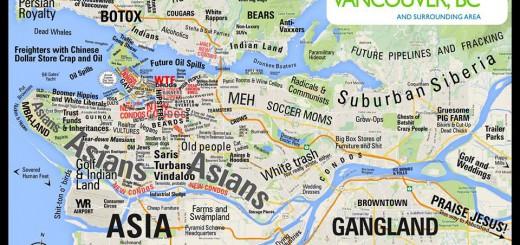 Нетолерантная карта Ванкувера