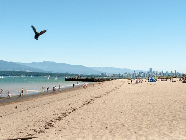 Пляж Локарно ванкувер