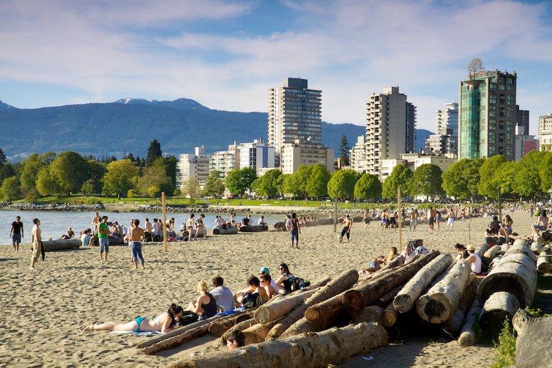 Пляж Сансет Ванкувер