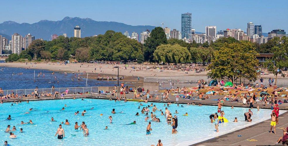 Второй пляж Ванкувер