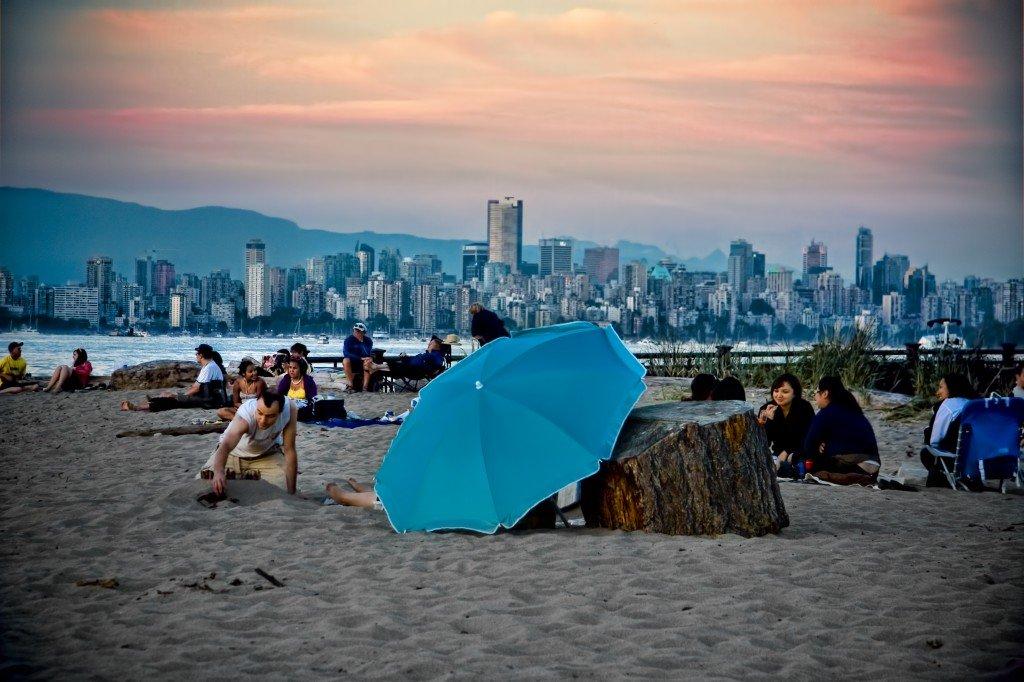 Пляж Джерико ванкувер