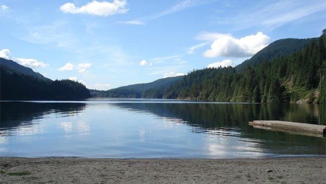 Озеро Бантзен ванкувер