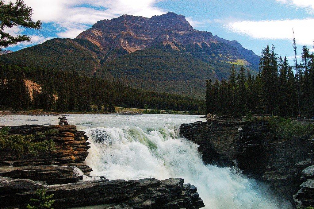 достопримечательности канады атабаска водопад