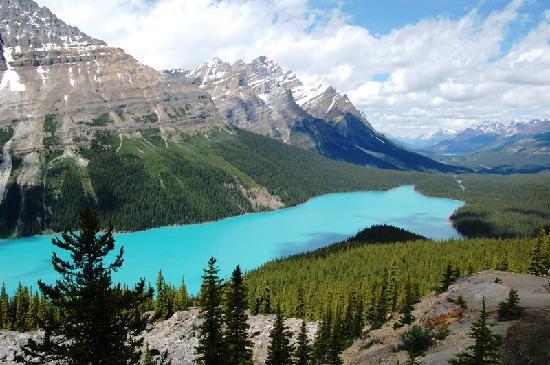 Озеро Пэйто, Скалистые горы (Rocky Mountains)