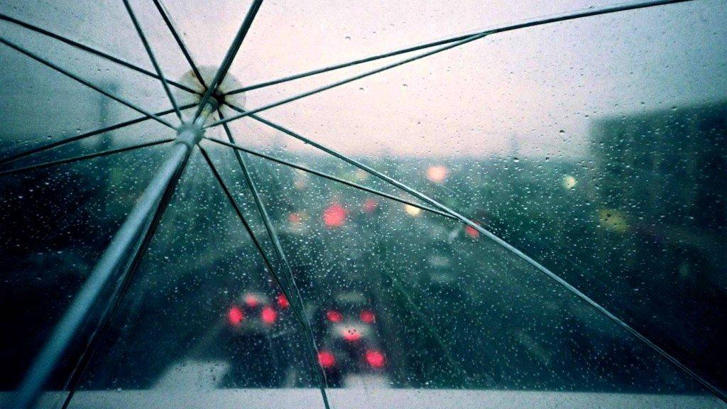 зонт в Ванкувере
