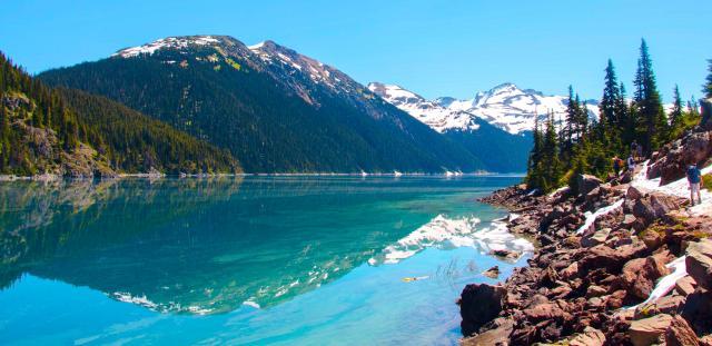 Озеро Гарибальди, Британская Колумбия