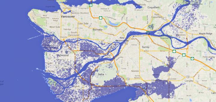 Наводнение в Ванкувере