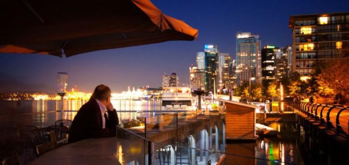 Террасы на крышах в Ванкувере