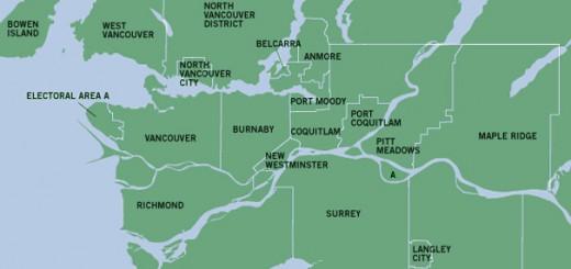 Карта Ванквувера