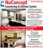 NuConcept Kitchen Cabinets
